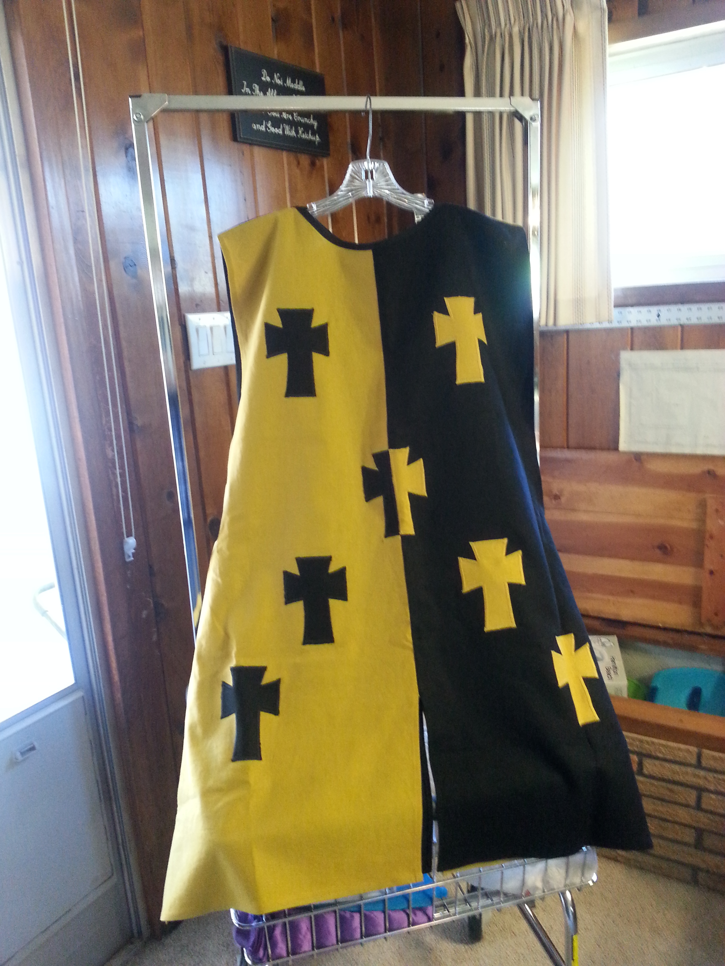 Diana, Custom design Sur Cote, very early period.  Custom design.  Medium weight.  Crosses are linen as wel...