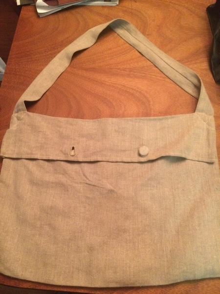 Kevin, British 1810 haversack 10.2 oz natural linen