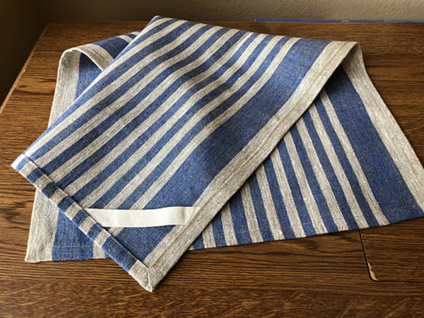 Mary Ann, I bought 5 yards to cut 6-30 long towels (before hemming & shrinking.) My first time trying a t...