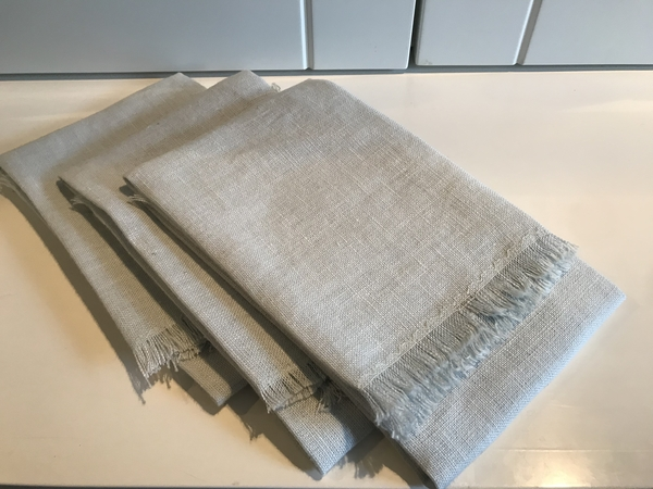 Diane, Fringed Guest Hand Towels