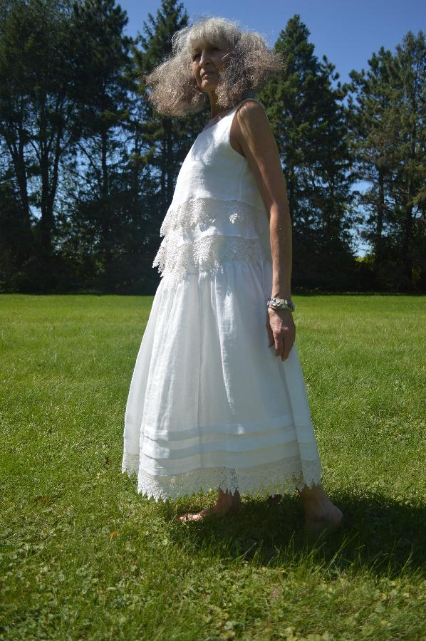 Julie, My Mom and I design and hand make linen clothing for our shop on etsy. www.livingwithbobka.etsy.com...