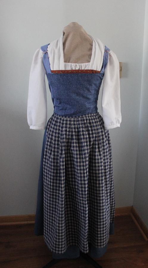 Jessica, Belles Village Outfit from Beauty and the Beast. I created my own pattern for this. The bodice an...
