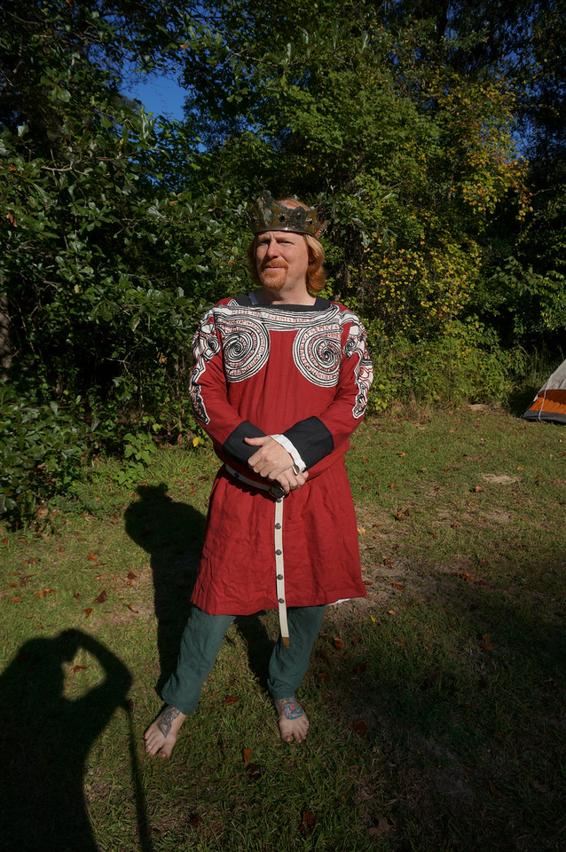 Rendy, Coronation Tunic for The Society of Creative Anachronism Kingdom of Gleann Abhann
