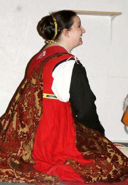 Erin, This is my Italian Renaissance gown. It has many layers of linen from the Smock to the Kirtle to the...