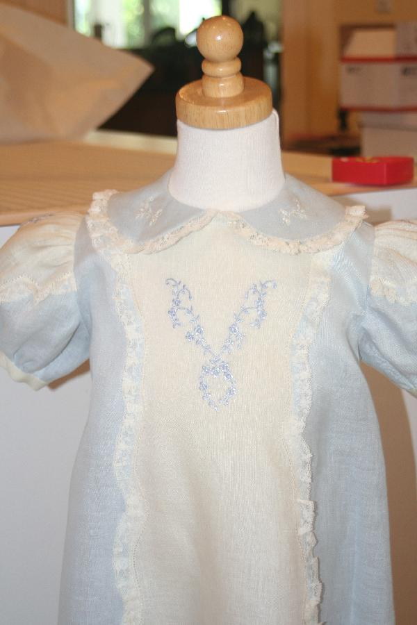 Irene, A lovely linen dress for Easter for one of my dear granddaughters.  The lightweight handkerchief lin...
