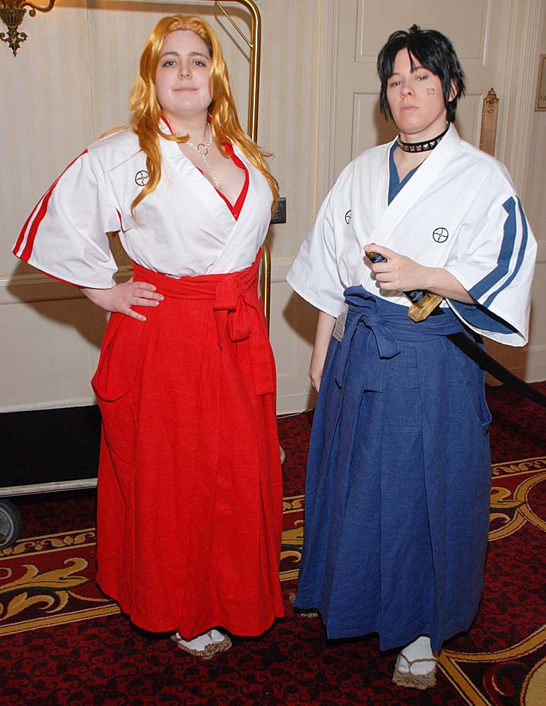 Stace, This is a set of mens and womens Academy uniforms from the TV anime Bleach, based on historical...
