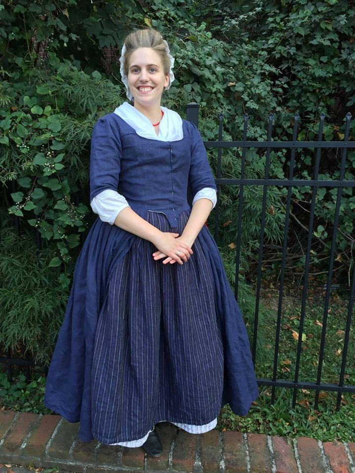 Aly, Robe a langlaise en fourreau - 18th Century Gown