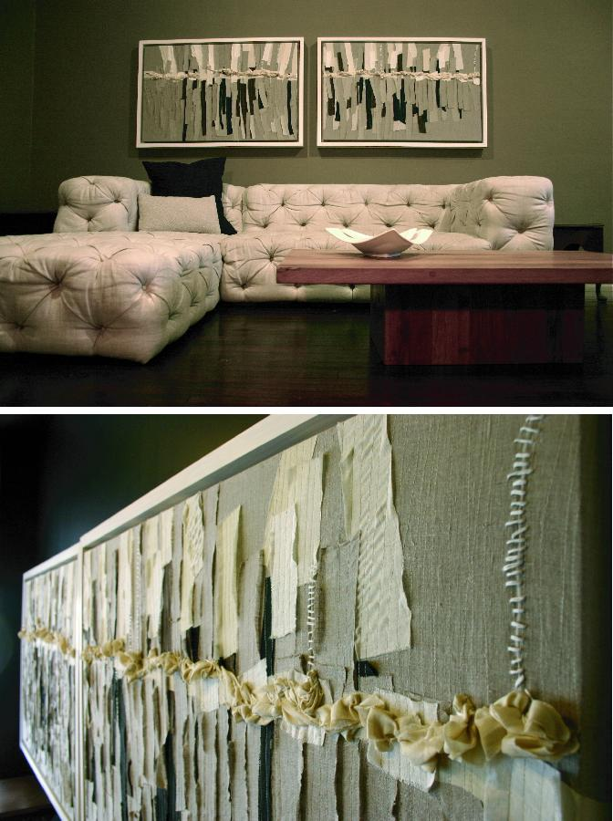 Aaron, LINEN LIVING