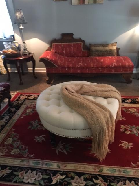 Ida, I bought a chaise lounge from the Salvation Army Family Store.  Loved it but not the fabric.  I deci...