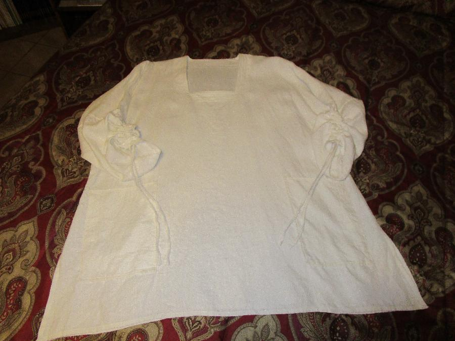Dionne, 100% Bleached Linen IL019-Signature Finish
