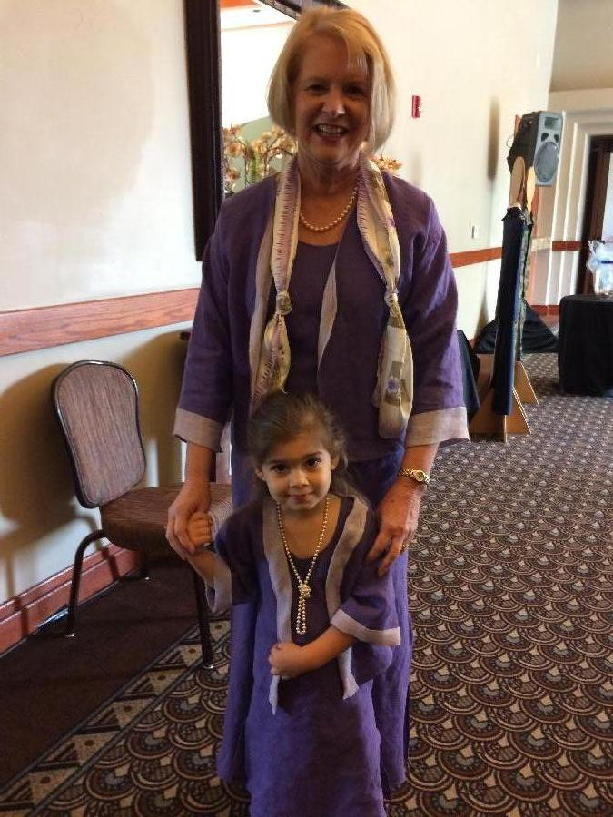 Geri, I made these dresses & jackets for my granddaughter and myself from fabrics-store.com linens.  T...