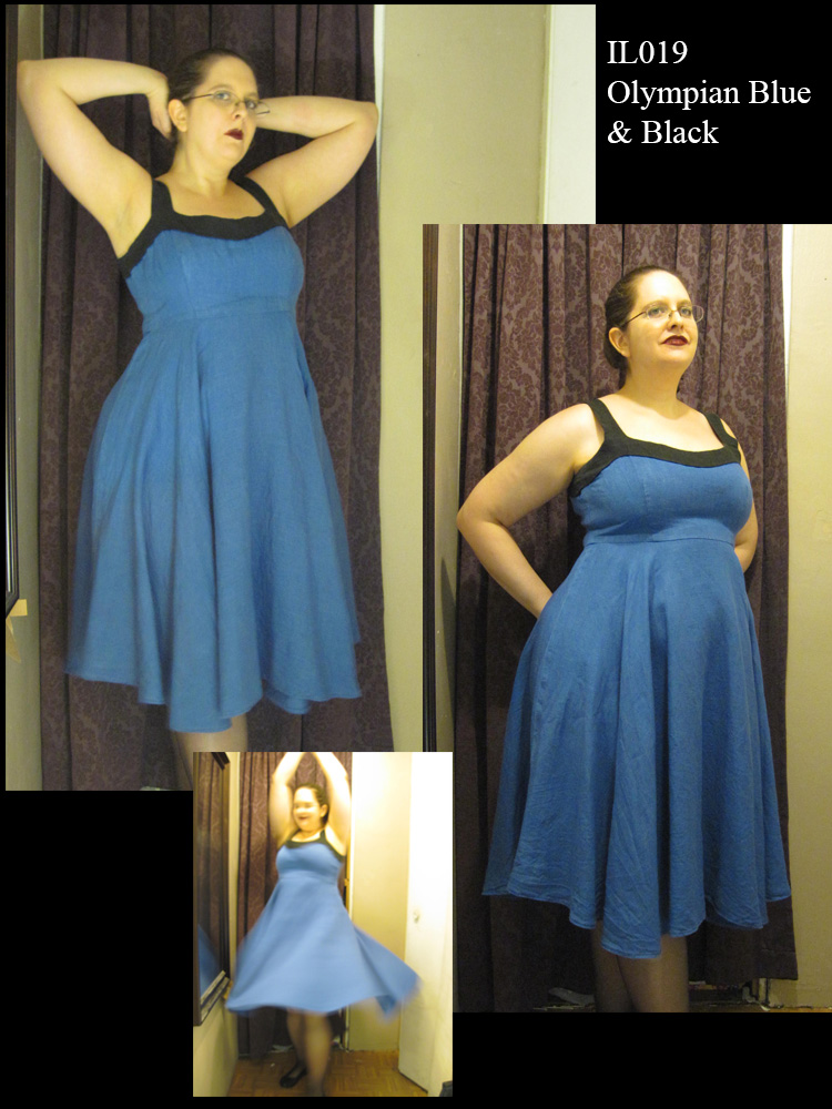 Iphigenia, I had so much trouble finding plus sized dresses that both fit and flattered my figure until I start...