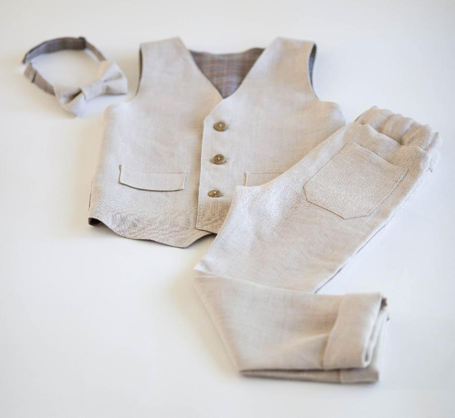 Aurelija, Linen boy set