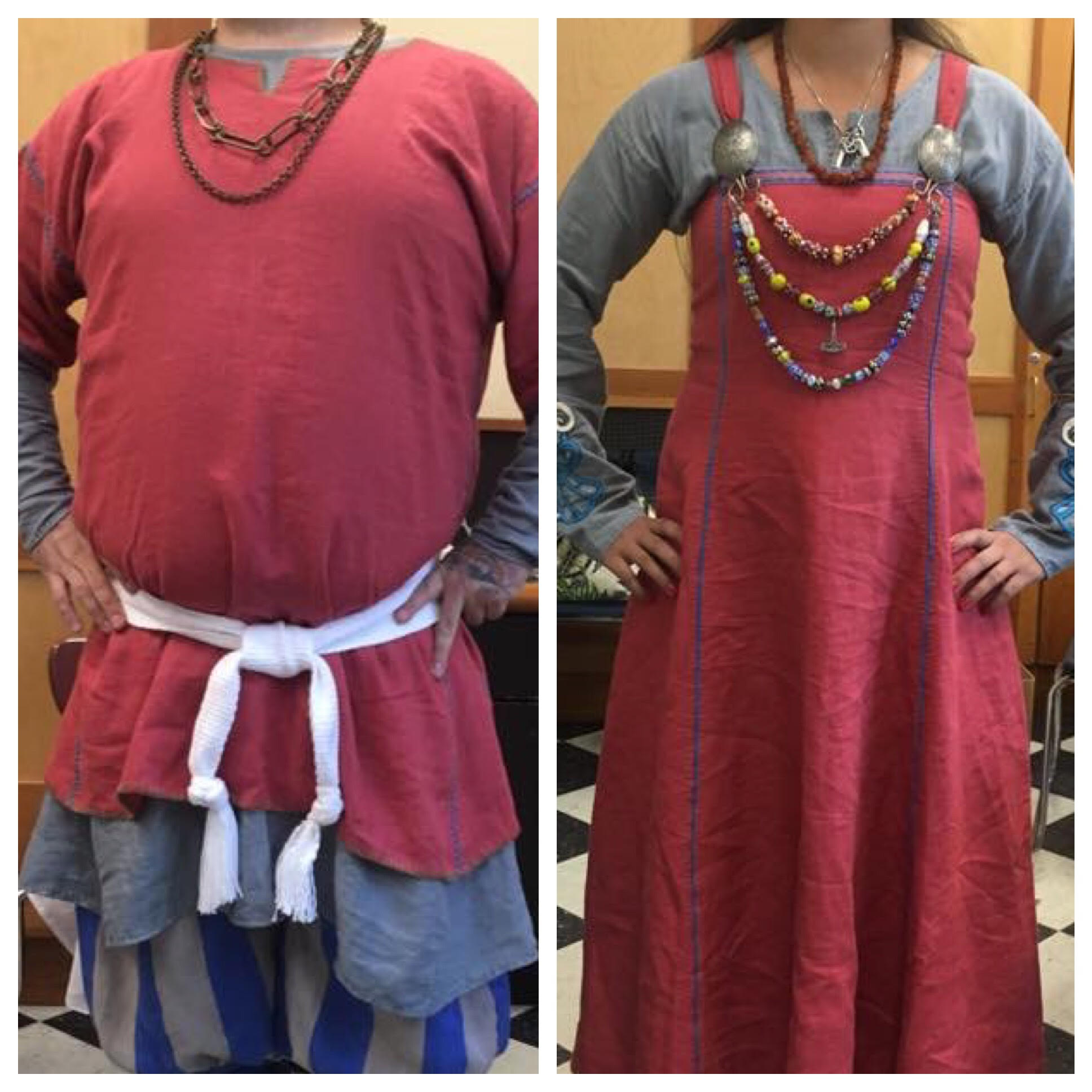 Katy, Coronation Garb for Their Majesties, Oz and Marisa  (Caid, Society for Creative Anachronism).   Line...