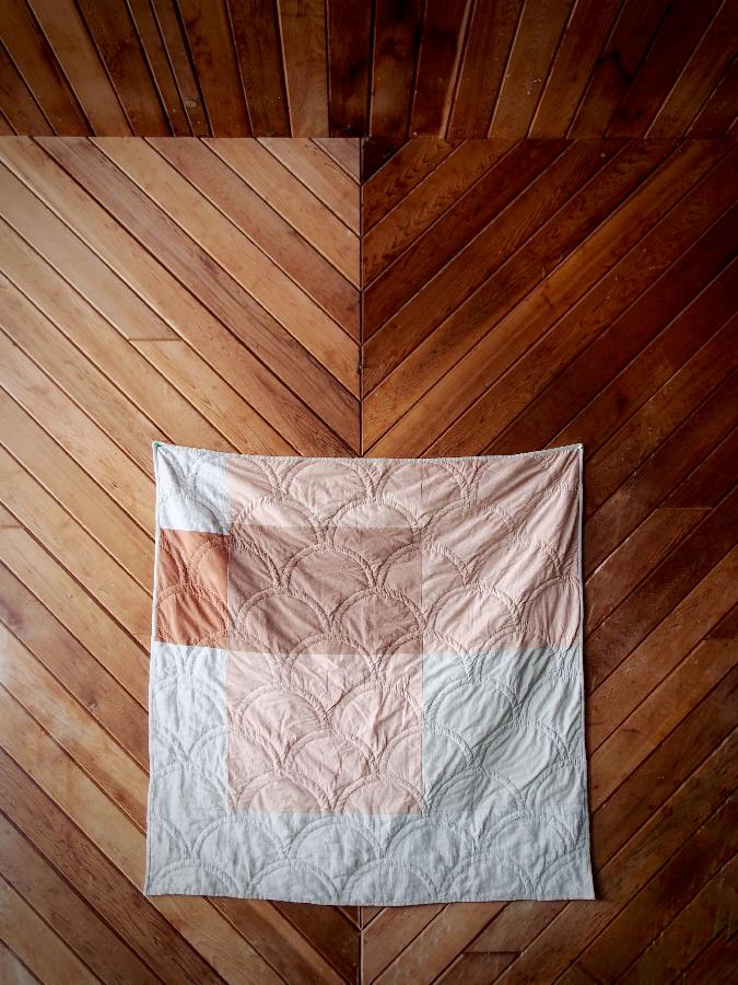 Rebekah, Onion skin study quilt