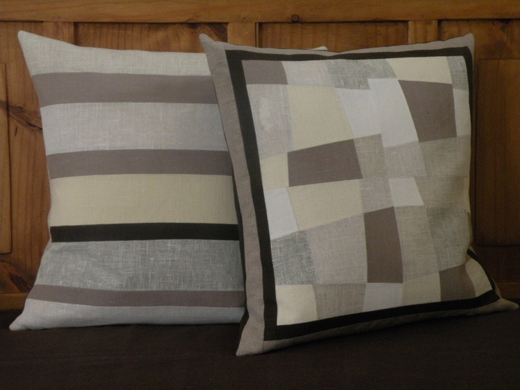 Martha, These are 20 x 20 decorative pillows. 