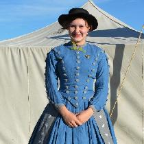 Amanda, This is an historically accurate 1860s d...