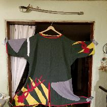 Warlord of The Outlands WAR Tunic.  Early Viking/Norse.  Custom design.  All medium weight linen...
