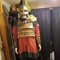 Ryan , Viking tunic and hood for medieval fight...