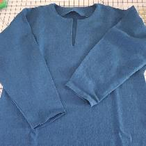 I am a seamstress and historical reenactor as well. This 100% linen tunic was made for a client...