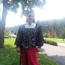 This is my armor for rapier fighting in the SCA. The shit and pants are linen I got here. The Do...