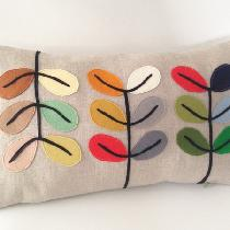 This is my latest design inspired by Mid century modern design. I used mix natural linen and han...