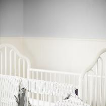 "Our ""Jackson"" nursery decor set.  Made with IL042 Premier finish, and IL020 Pewter sof..."