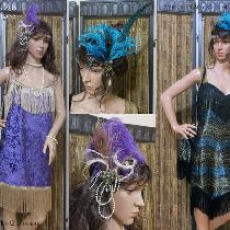 Flapper themed ensembles by Lady Faie