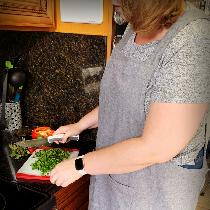 I made a Japanese cross back apron for my future DIL.  She loves it! The linen has that rustic c...