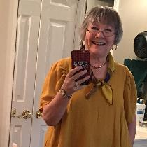 IL019 Autumn Gold tunic and Cobalt pants using Tina Givens patterns are my first use of linen an...