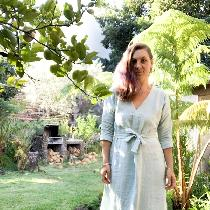 Self drafted linen dress made in medium weight linen with belt. To see my other makes check out...