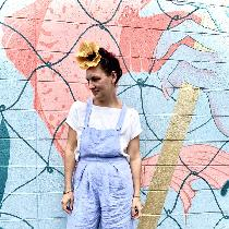 These self drafted overalls are made from a lightweight linen perfect for summer weather. I crea...