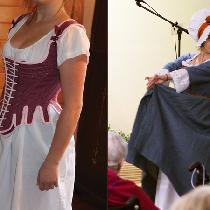 We have a group of women volunteers who put on historic fashion shows for the public.  Our costu...