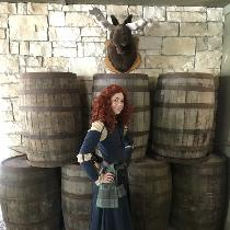 "Costume, Merida from Pixar's ""Brave"""