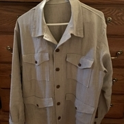 After making three Zina shirts for women my husband said he'd like to have a linen shirt. Since...