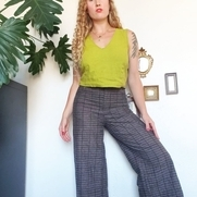 My outfit composed only of linen portrays my identity- in color choice, in minimalist design, su...