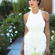 Identity and Spirituality:  This halter jumpsuit that I created reflects the power of a strong w...