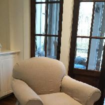 Another Linen Slipcover...by The Franklin Slipcover Co