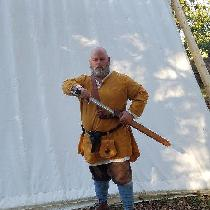 10th centuryAnglo Saxon tunic and undertunic, made of m8ddle  weight linen. Tunic is made of Aut...