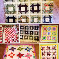 Quilts for Christmas for family and friends. I'm super busy this time of year. My 10 year old ma...