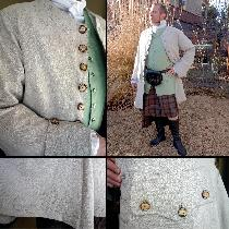 Holly, An 18th century frock coat I made for my...