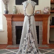 Our recreation of Margaery Tyrell's wedding dress featured in the HBO series, Game of Thrones- f...