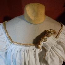 My project is a 16th century Italian camicia (or undershirt). It is made from approximately 4 ya...