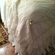 Romantic Washed Linen Bedding