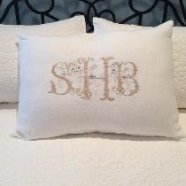 Optic White Pillow Sham www.etsy.com/shop/SouthernOccasions