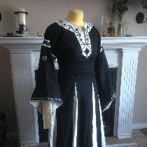 This is a 12th century style dress called a