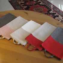 Guest/Kitchen towels made with two color 100% linen.