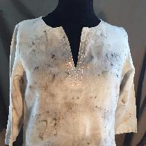 This is eco printing on 100 % linen up cycled. I like linen it holds the print and is always a s...