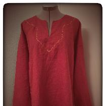 Tunic in Biking Red
