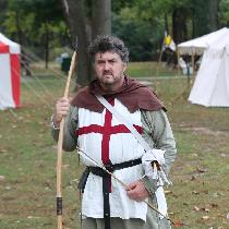 Mark, The outfit I made for my 14th Century En...